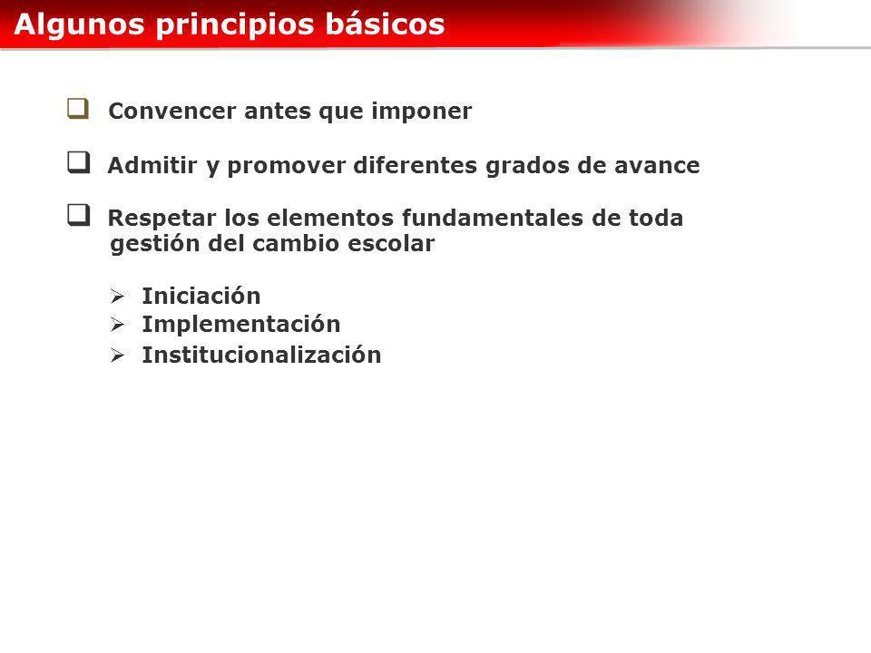 Algunos principios básicos