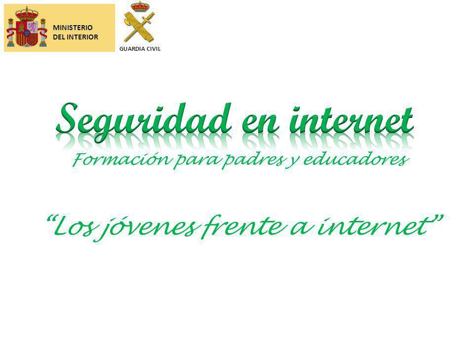 Seguridad en internet Los jóvenes frente a internet