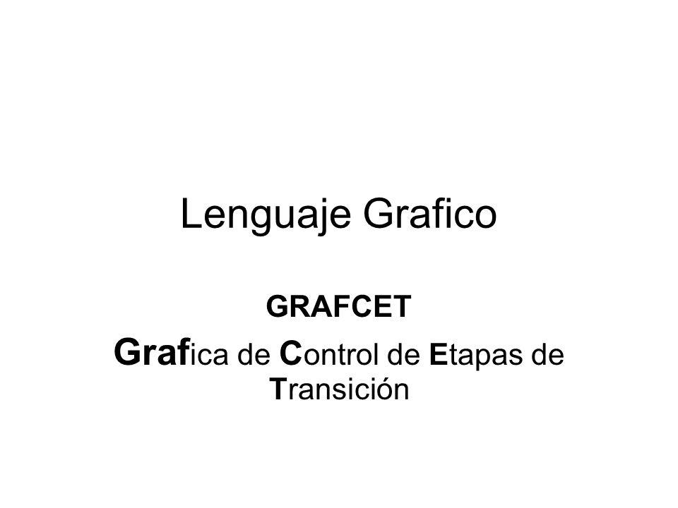 GRAFCET Grafica de Control de Etapas de Transición