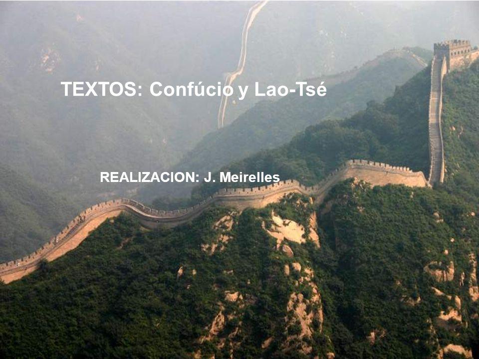 TEXTOS: Confúcio y Lao-Tsé