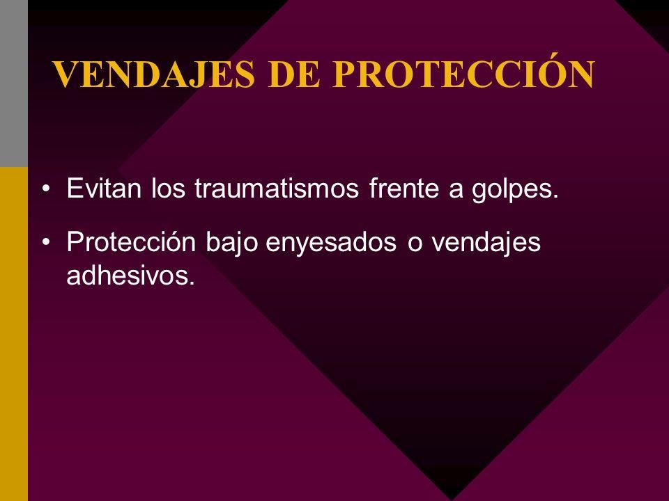 VENDAJES DE PROTECCIÓN
