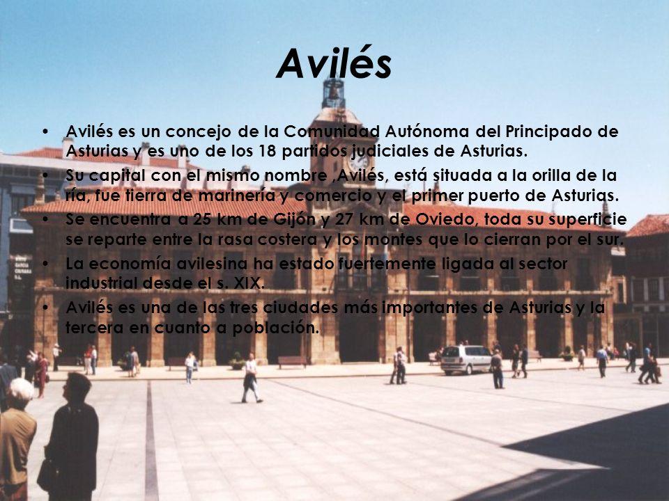 Avilés Avilés es un concejo de la Comunidad Autónoma del Principado de Asturias y es uno de los 18 partidos judiciales de Asturias.