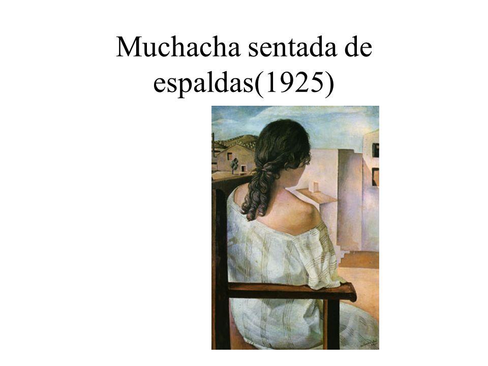 Muchacha sentada de espaldas(1925)