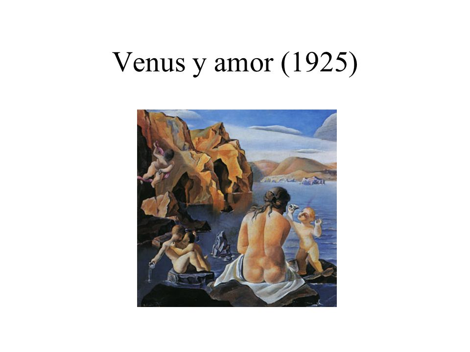 Venus y amor (1925)