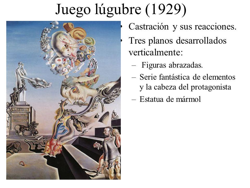 Juego lúgubre (1929) Castración y sus reacciones.