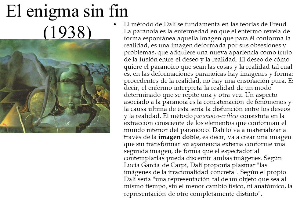 El enigma sin fin (1938)