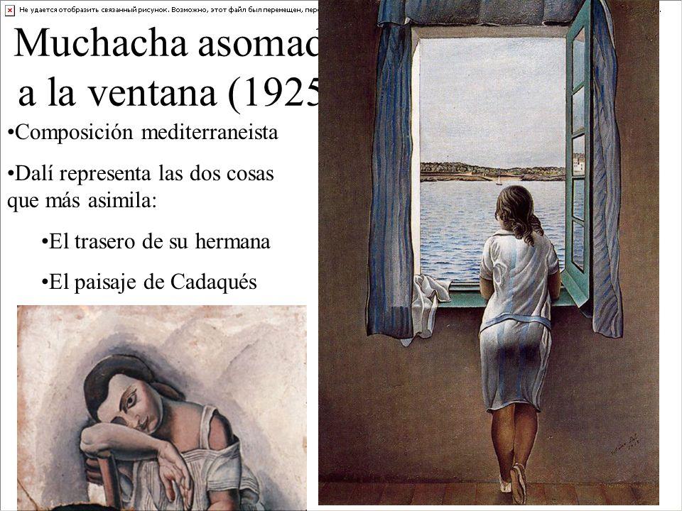Muchacha asomada a la ventana (1925)