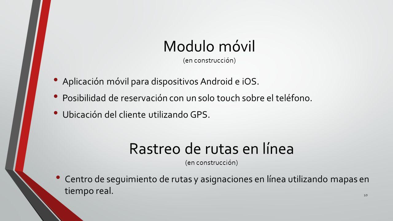 Modulo móvil (en construcción)