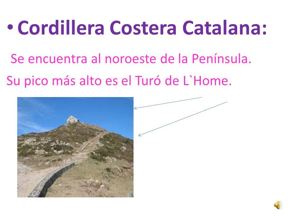 Cordillera Costera Catalana: