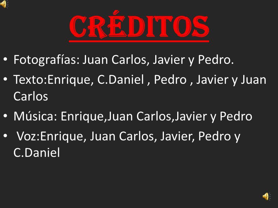 Créditos Fotografías: Juan Carlos, Javier y Pedro.