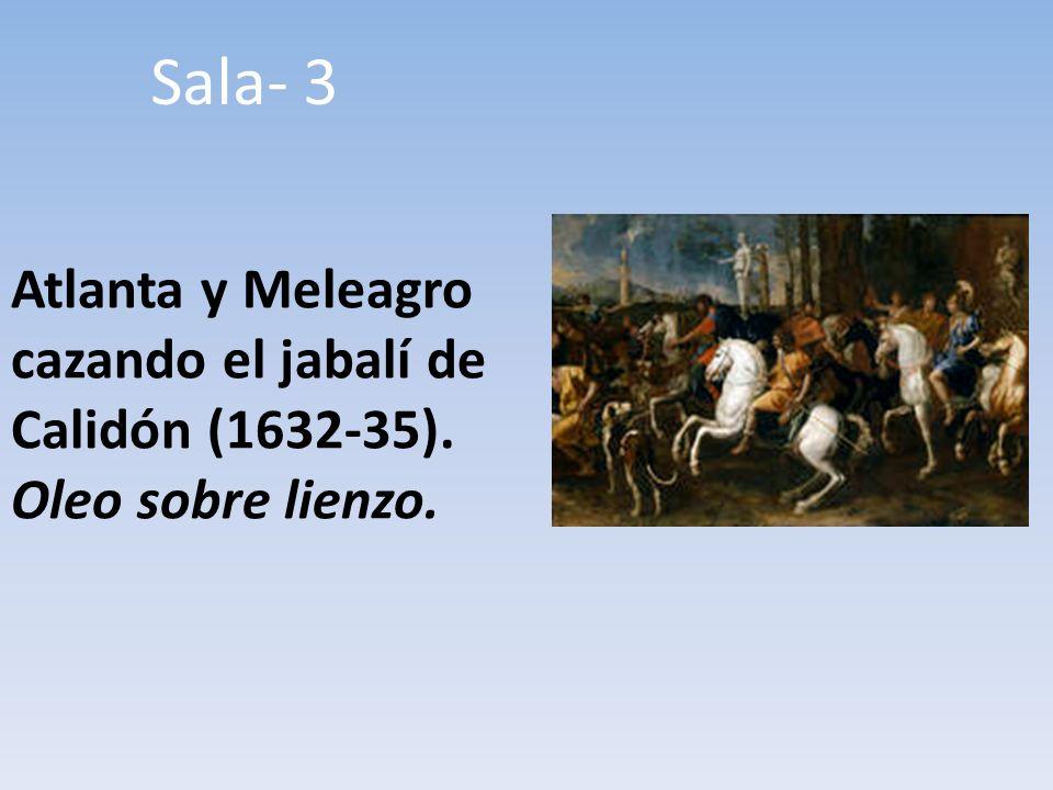 Sala- 3 Atlanta y Meleagro cazando el jabalí de Calidón (1632-35). Oleo sobre lienzo.