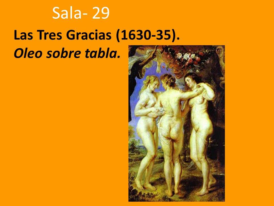 Las Tres Gracias (1630-35). Oleo sobre tabla.