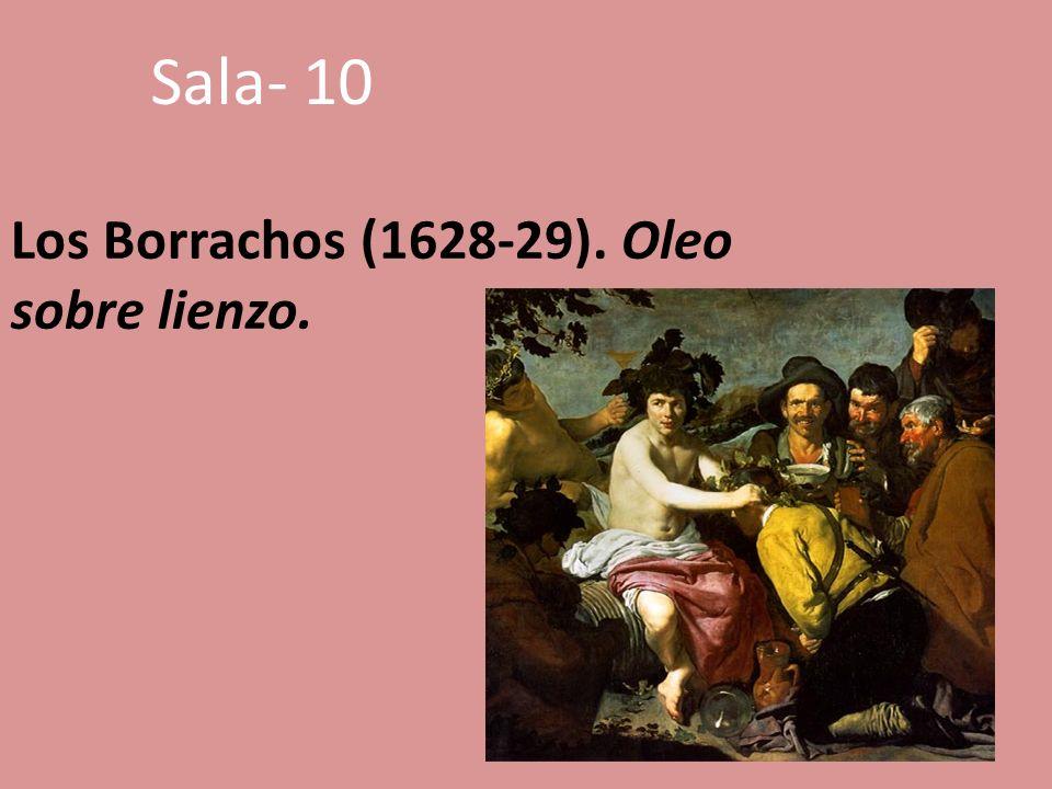Los Borrachos (1628-29). Oleo sobre lienzo.