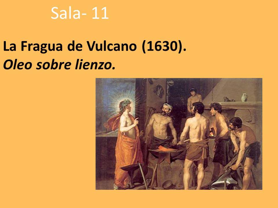 La Fragua de Vulcano (1630). Oleo sobre lienzo.