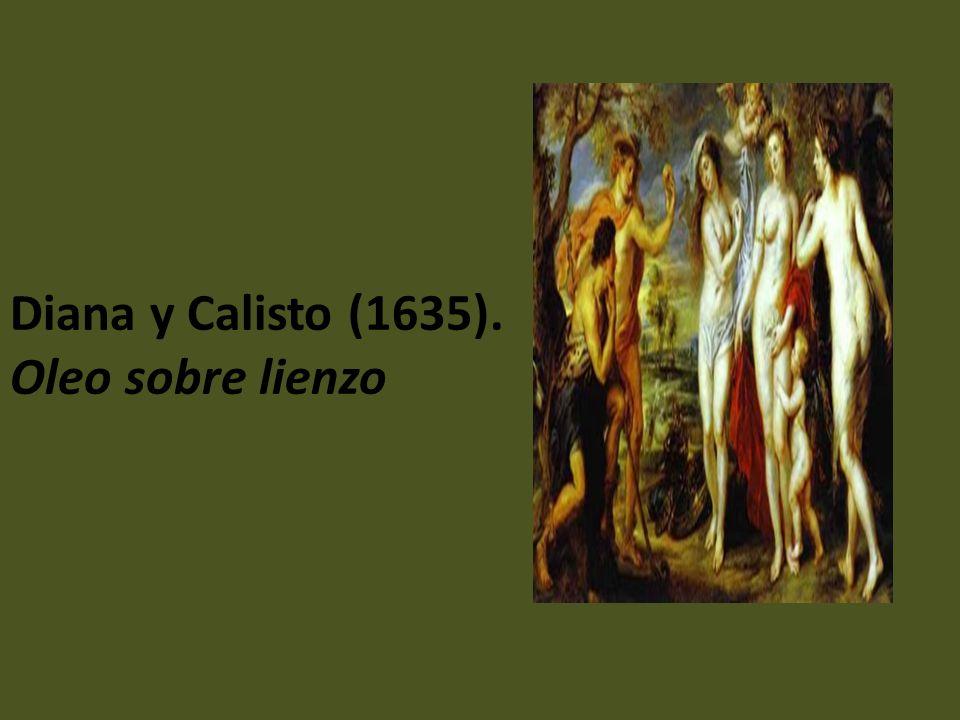 Diana y Calisto (1635). Oleo sobre lienzo