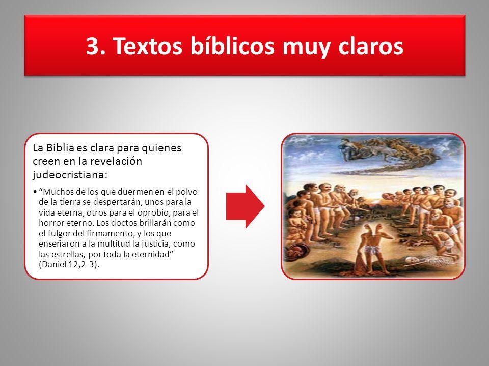 3. Textos bíblicos muy claros