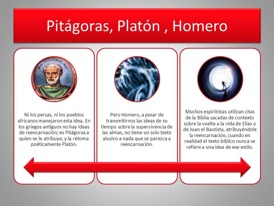 Pitágoras, Platón , Homero