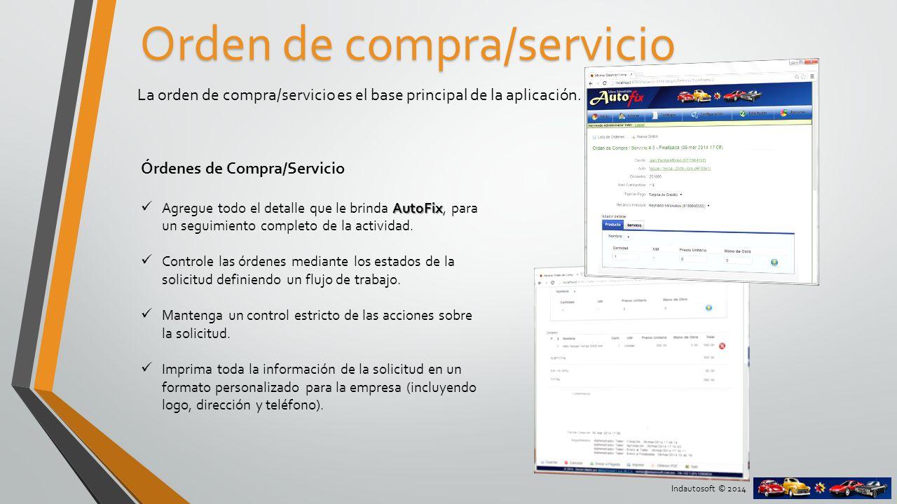 Orden de compra/servicio