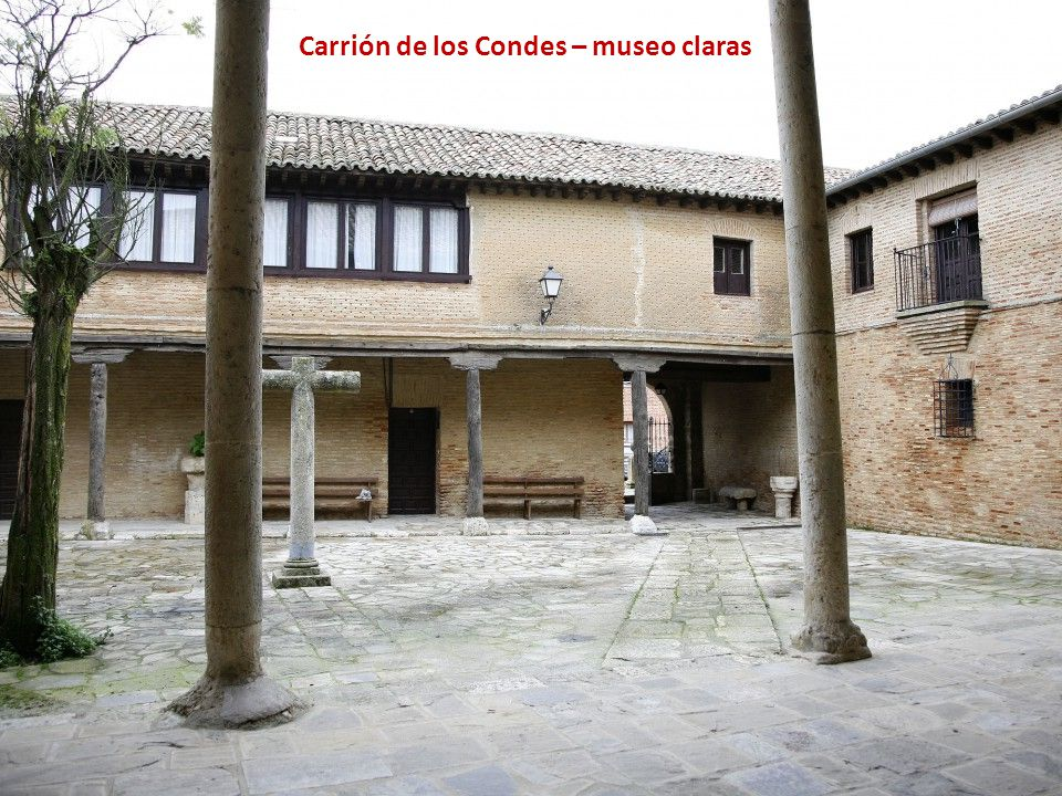 Carrión de los Condes – museo claras