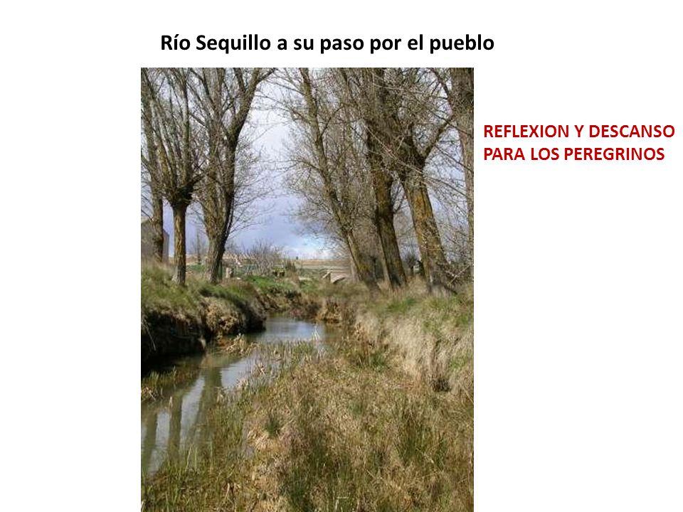 Río Sequillo a su paso por el pueblo