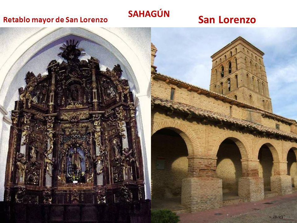 SAHAGÚN San Lorenzo Retablo mayor de San Lorenzo