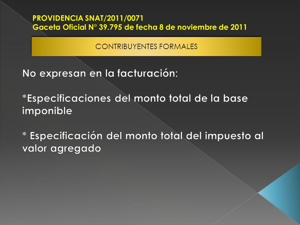 CONTRIBUYENTES FORMALES