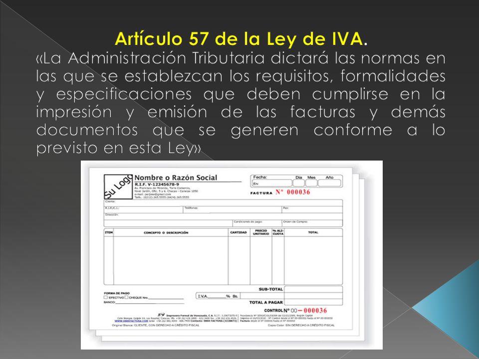 Artículo 57 de la Ley de IVA.