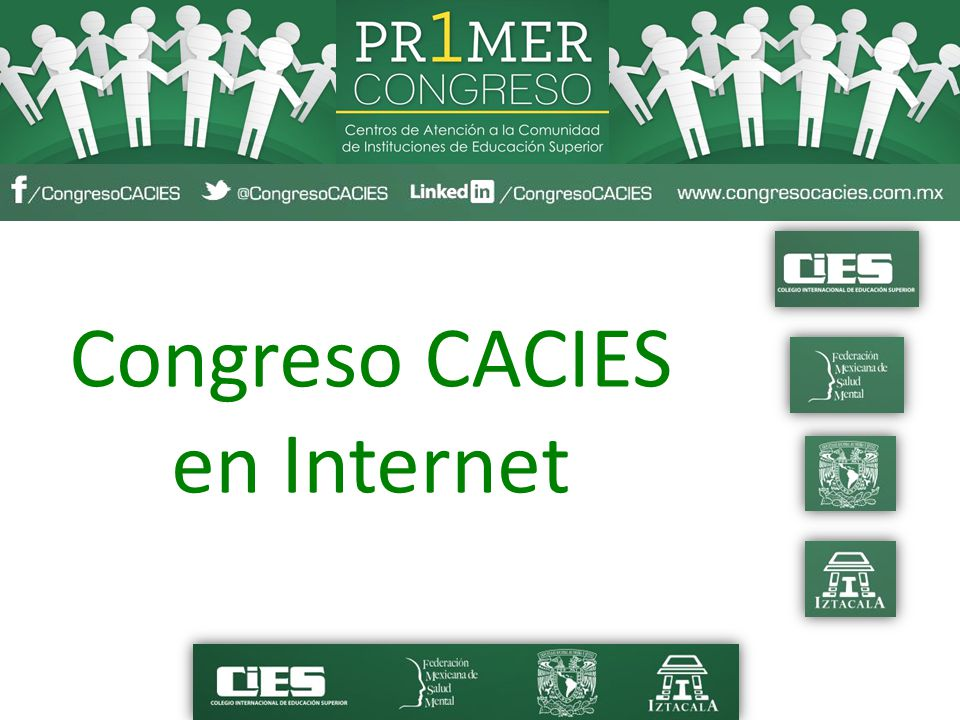 Congreso CACIES en Internet