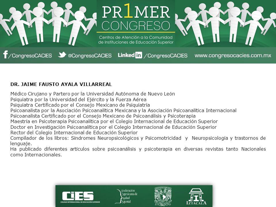DR. JAIME FAUSTO AYALA VILLARREAL