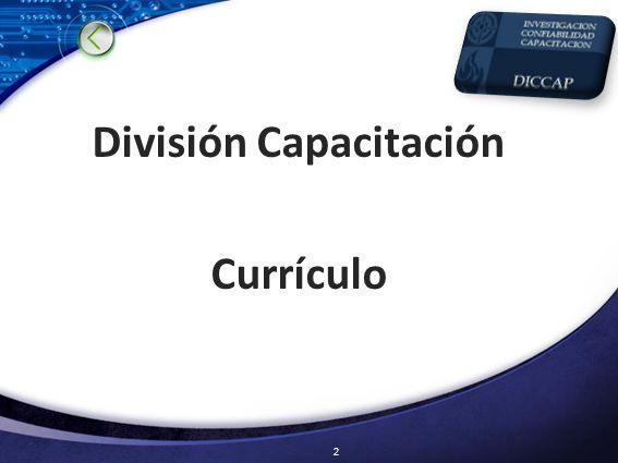 División Capacitación