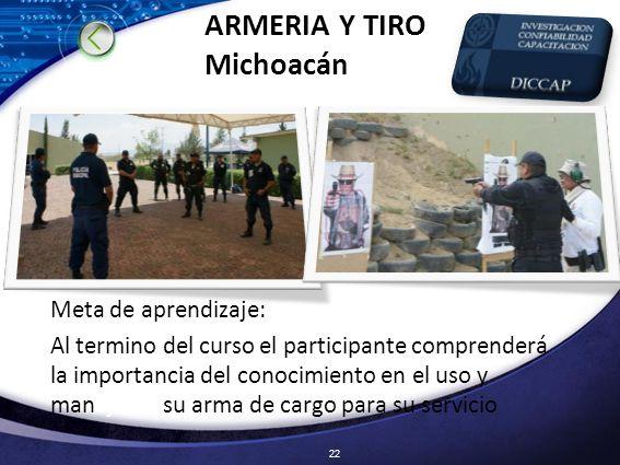 ARMERIA Y TIRO Michoacán