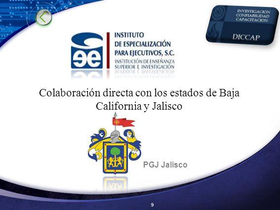 Colaboración directa con los estados de Baja