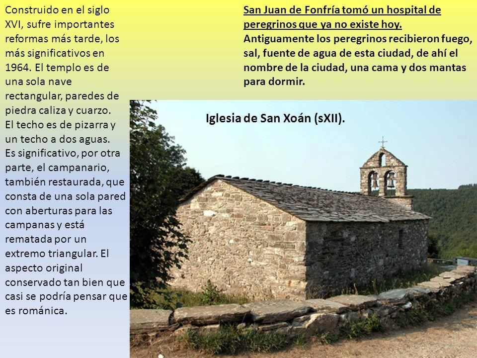 Iglesia de San Xoán (sXII).