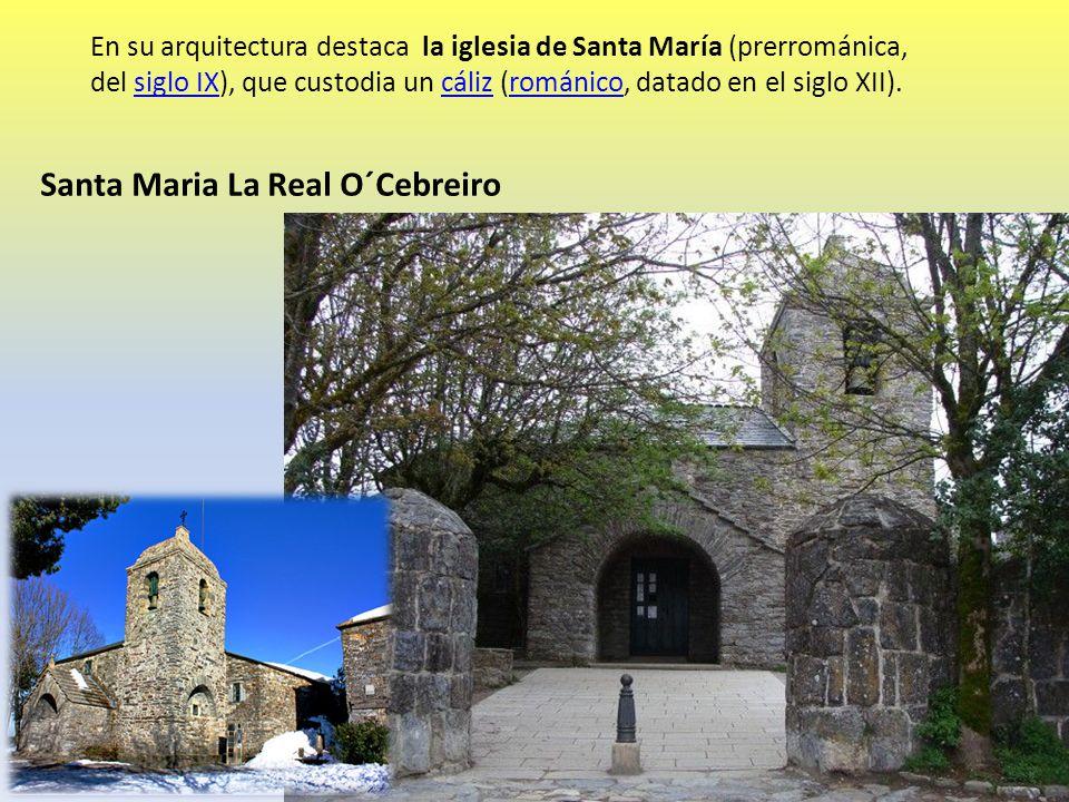 Santa Maria La Real O´Cebreiro