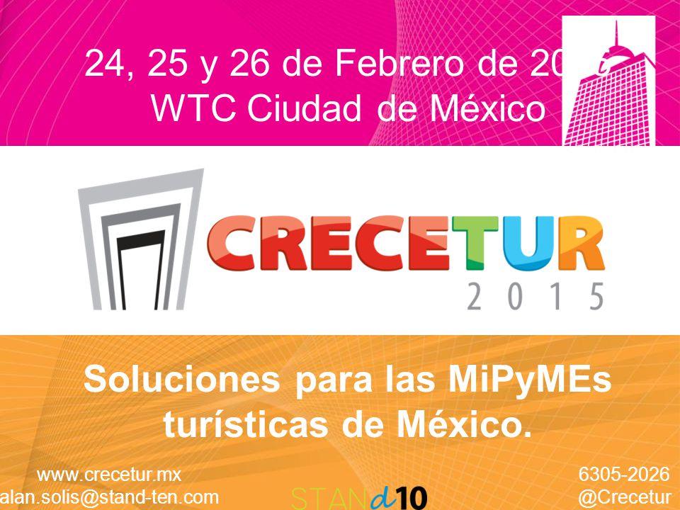 Soluciones para las MiPyMEs turísticas de México.