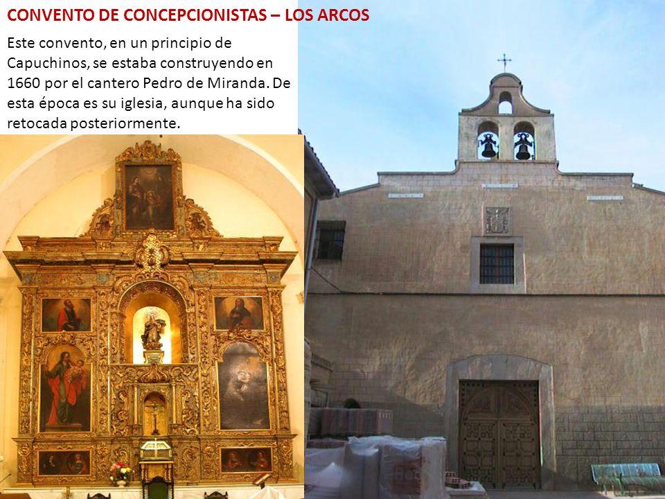 CONVENTO DE CONCEPCIONISTAS – LOS ARCOS