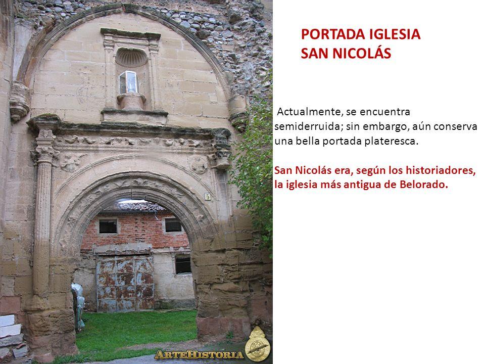 PORTADA IGLESIA SAN NICOLÁS