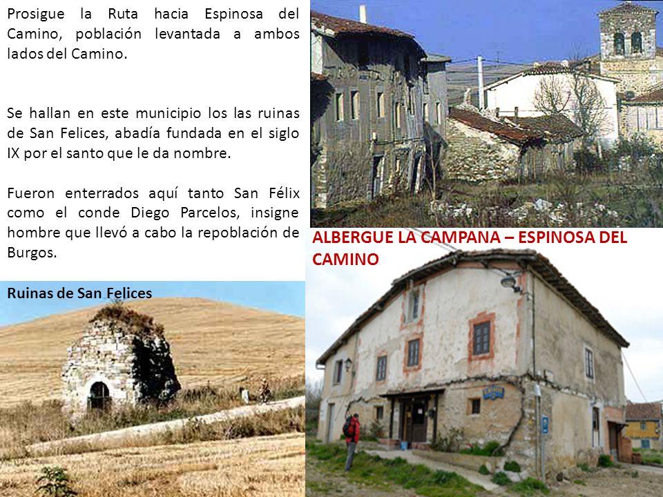 ALBERGUE LA CAMPANA – ESPINOSA DEL CAMINO