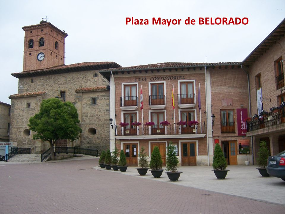 Plaza Mayor de BELORADO