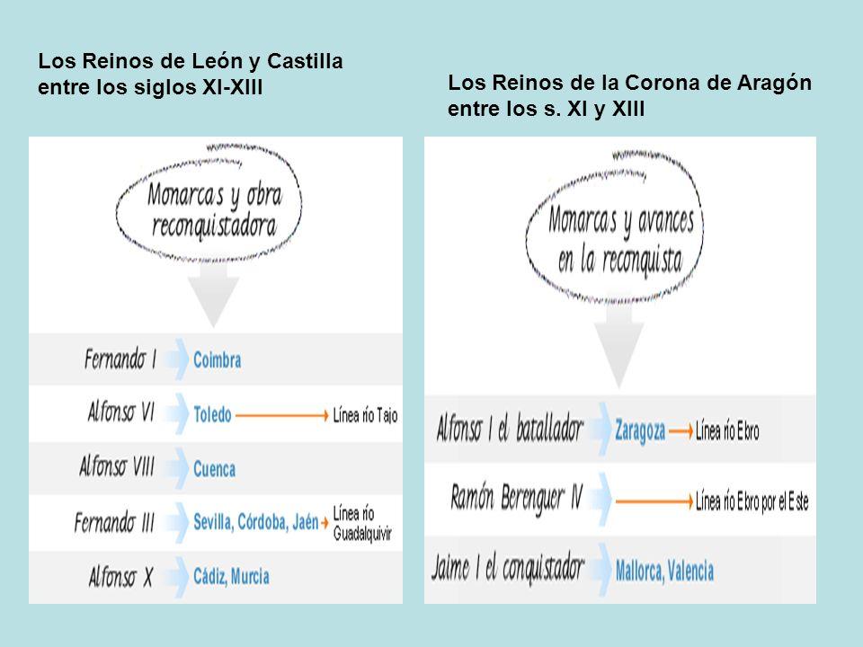 Los Reinos de León y Castilla entre los siglos XI-XIII