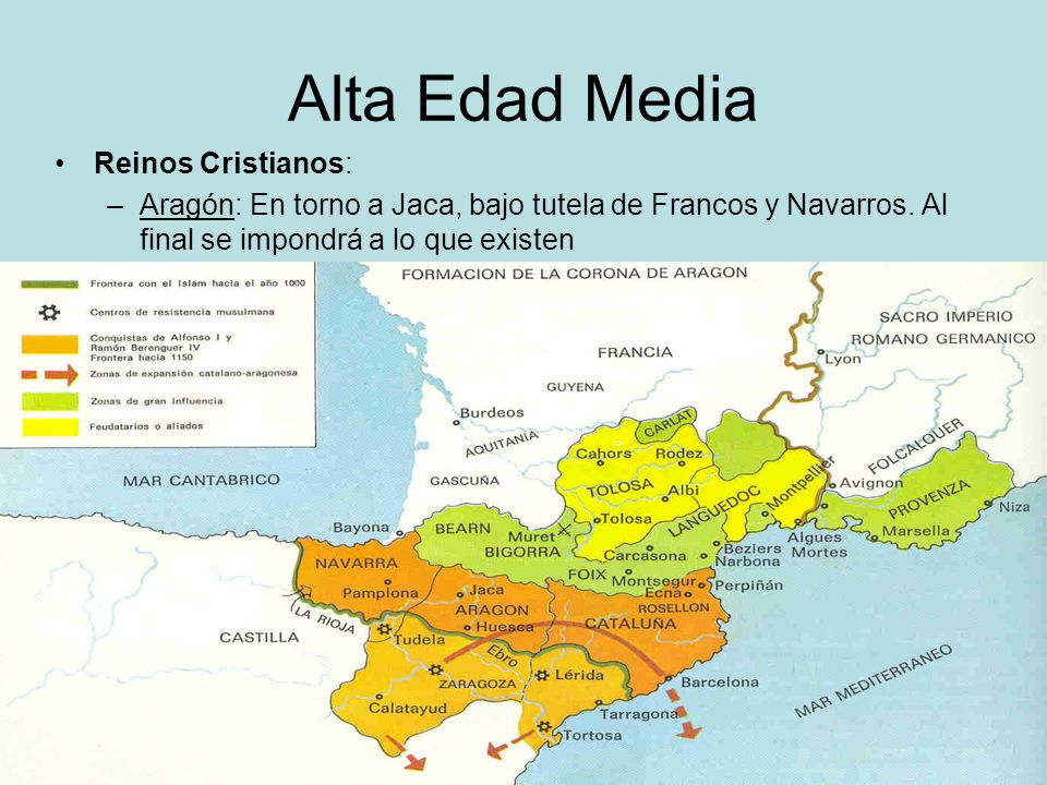 Alta Edad Media Reinos Cristianos: