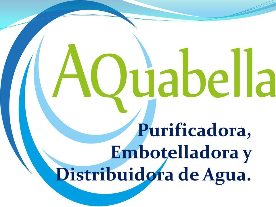 Purificadora, Embotelladora y Distribuidora de Agua.