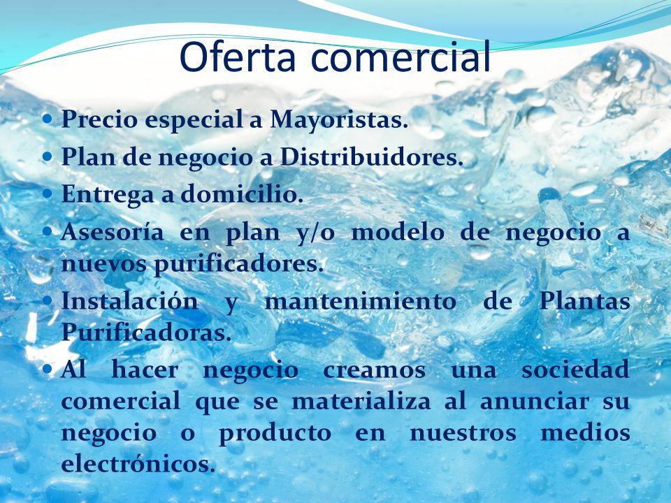 Oferta comercial Precio especial a Mayoristas.