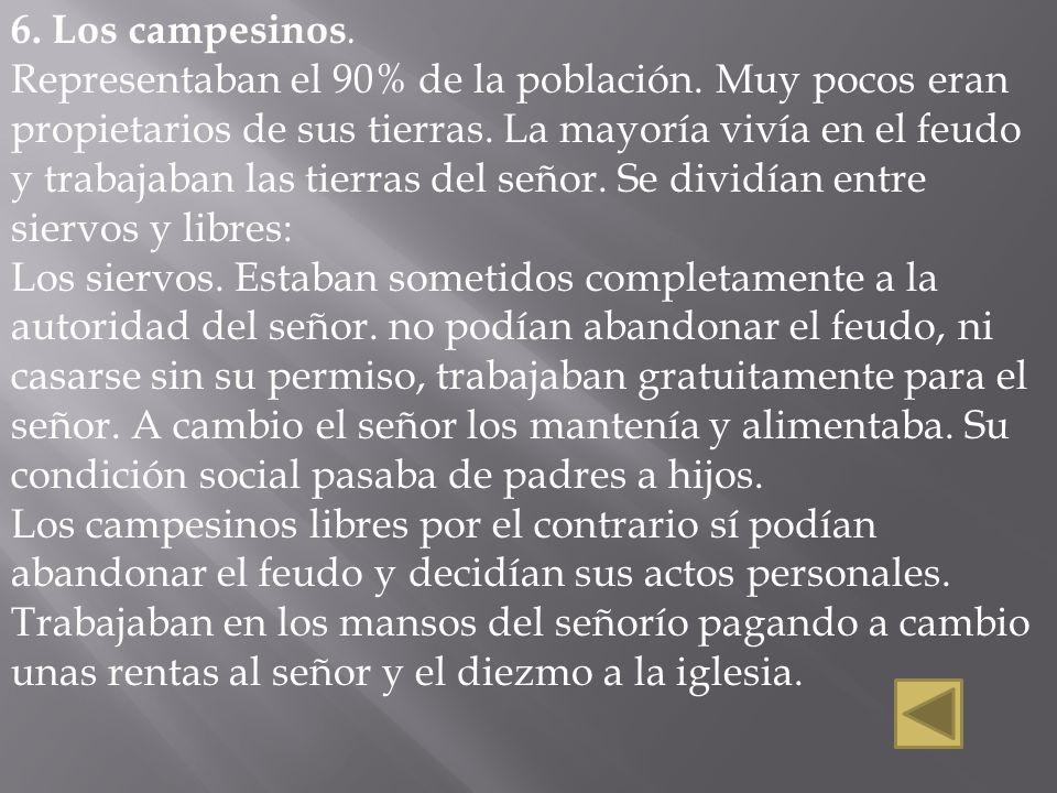 6. Los campesinos.