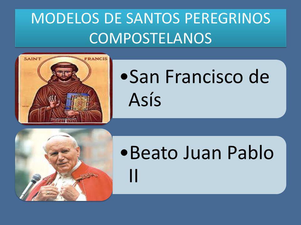 MODELOS DE SANTOS PEREGRINOS COMPOSTELANOS