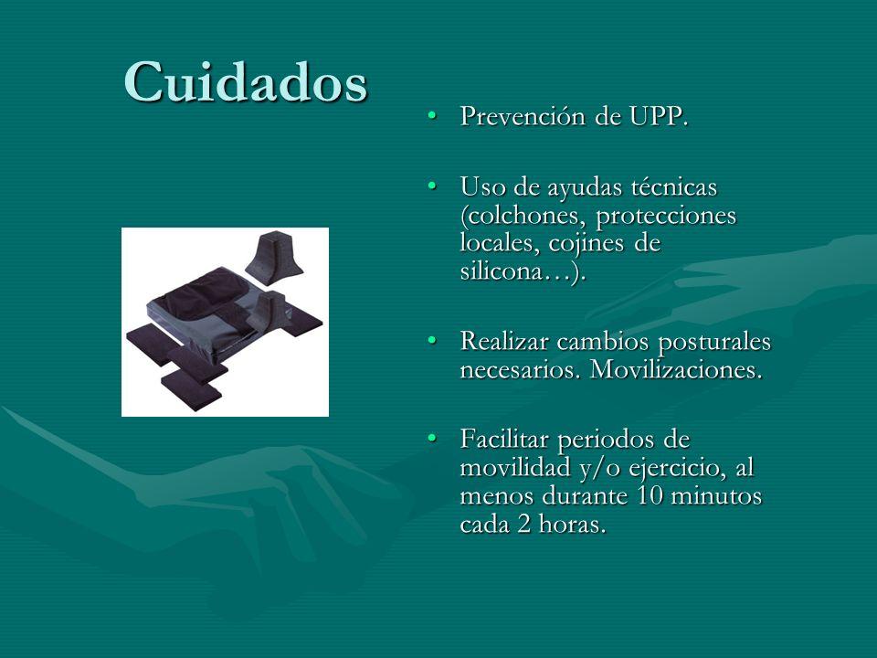 Cuidados Prevención de UPP.