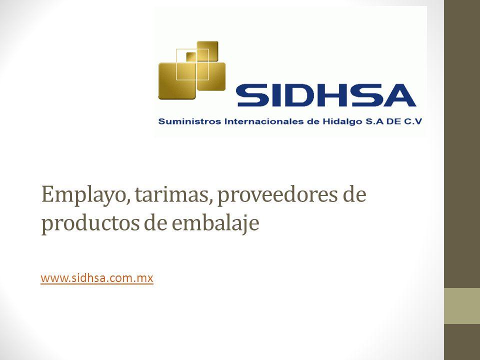 Emplayo, tarimas, proveedores de productos de embalaje