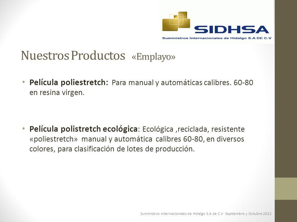 Nuestros Productos «Emplayo»