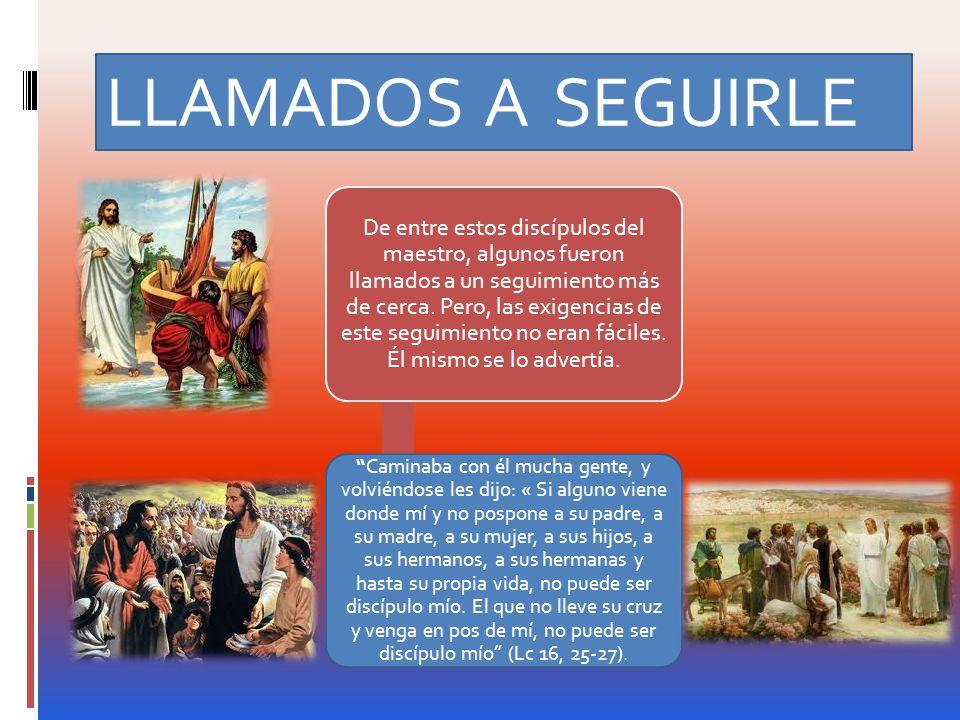 LLAMADOS A SEGUIRLE