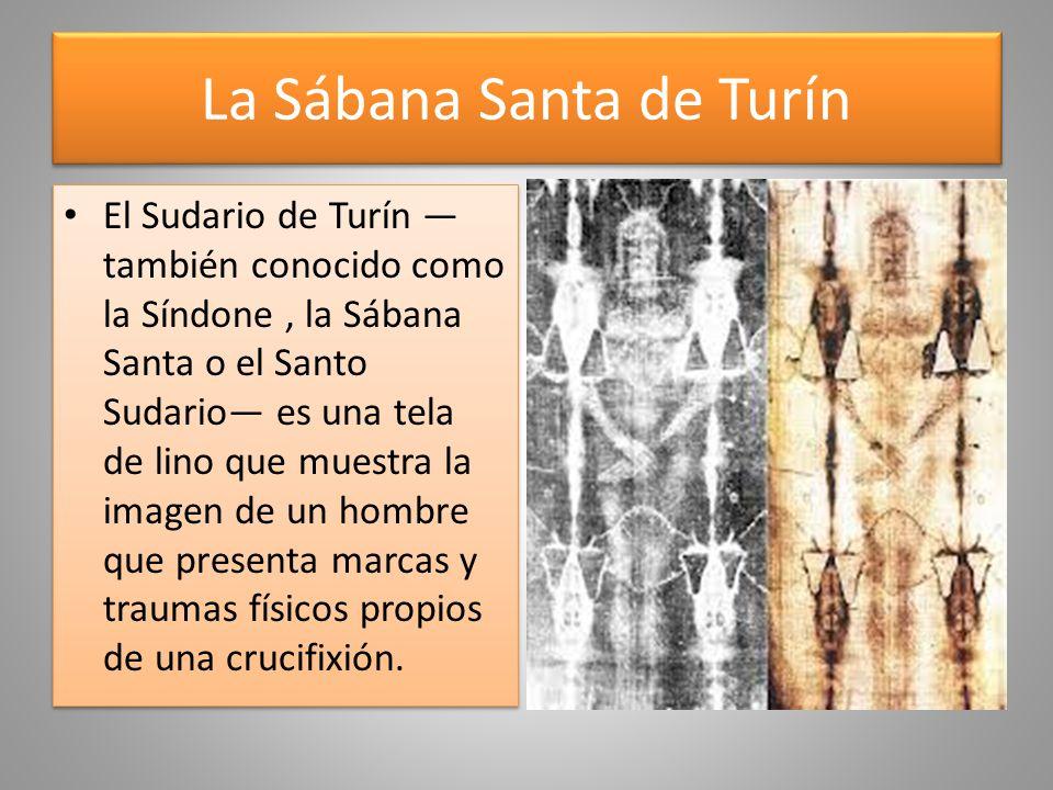 La Sábana Santa de Turín